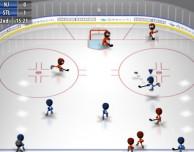 I famosi personaggi stilizzati tornano sul campo con Stickman Ice Hockey