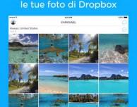 Carousel di Dropbox si aggiorna!