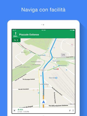 Google Maps iPad pic0