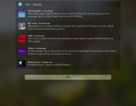 Twitter nel centro notifiche con il widget NC