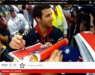 L'app della Formula 1 2015 è disponibile su App Store