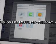 Inviare allegati dall'app Mail? In iOS 9 sarà possibile [VIDEO]
