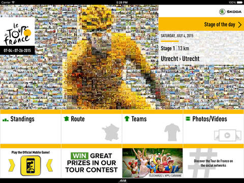 TOUR DE FRANCE 2015 iPad pic0
