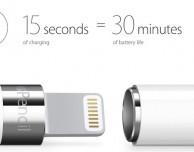 La Apple Pencil lavora per 30 minuti con soli 15 secondi di ricarica!