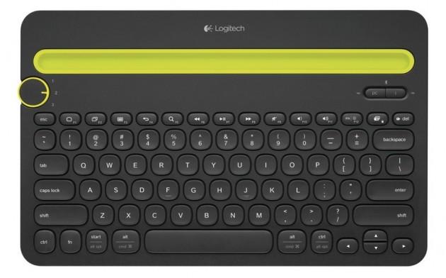 Logitech K480 tastiera iPad pic0