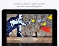 Ritocco fotografico su iPad grazie alla nuova app Adobe Photoshop Fix