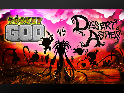 Pocket God vs Desert Ashes iPad pic0