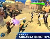 """""""Star Wars: Galaxy of Heroes"""" arriva su iPad e iPhone"""