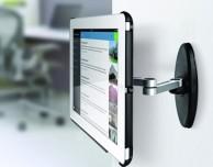 Da Meliconi il supporto da parete a doppio braccio per iPad