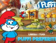 Arriva su App Store I Puffi Epic Run di Ubisoft