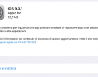 Disponibile iOS 9.3.1: corretto il bug dei link in Safari