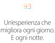 Apple presenta iOS 9.3, tvOS 9.2 e watchOS 2.2: ecco tutte le novità