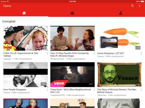 YouTube iPad pic0