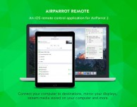 Su App Store è disponibile AirParrot Remote per iPad