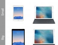 Semplificare la linea iPad, grazie!