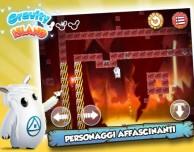 Aiuta Shiro nel nuovo gioco Gravity Island