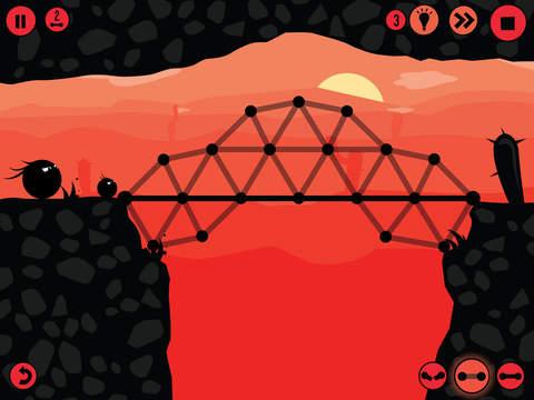 Fat Dots Bridge Builder iPad pic0