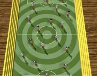 Il calcio da tavolo su iPad con Springs Football