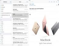 iOS 10 aggiunge la visualizzazione a tre colonne per Mail e Note su iPad Pro da 12.9″