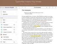 Scrivener: interessante word processor per iPad