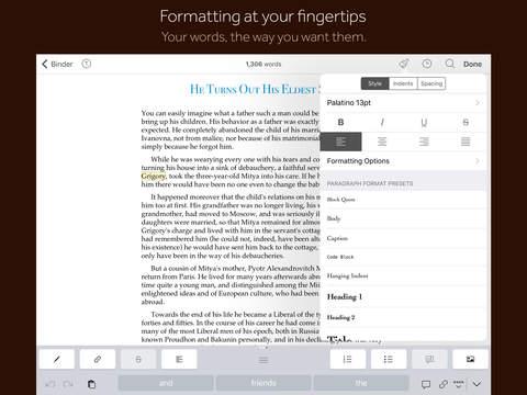 Scrivener La Migliore App Per Scrivere Su Ipad Ipad