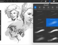 Importante aggiornamento per Procreate, l'app che ti fa disegnare su iPad