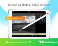Camera+ per iPad si aggiorna con il supporto alla Apple Pencil