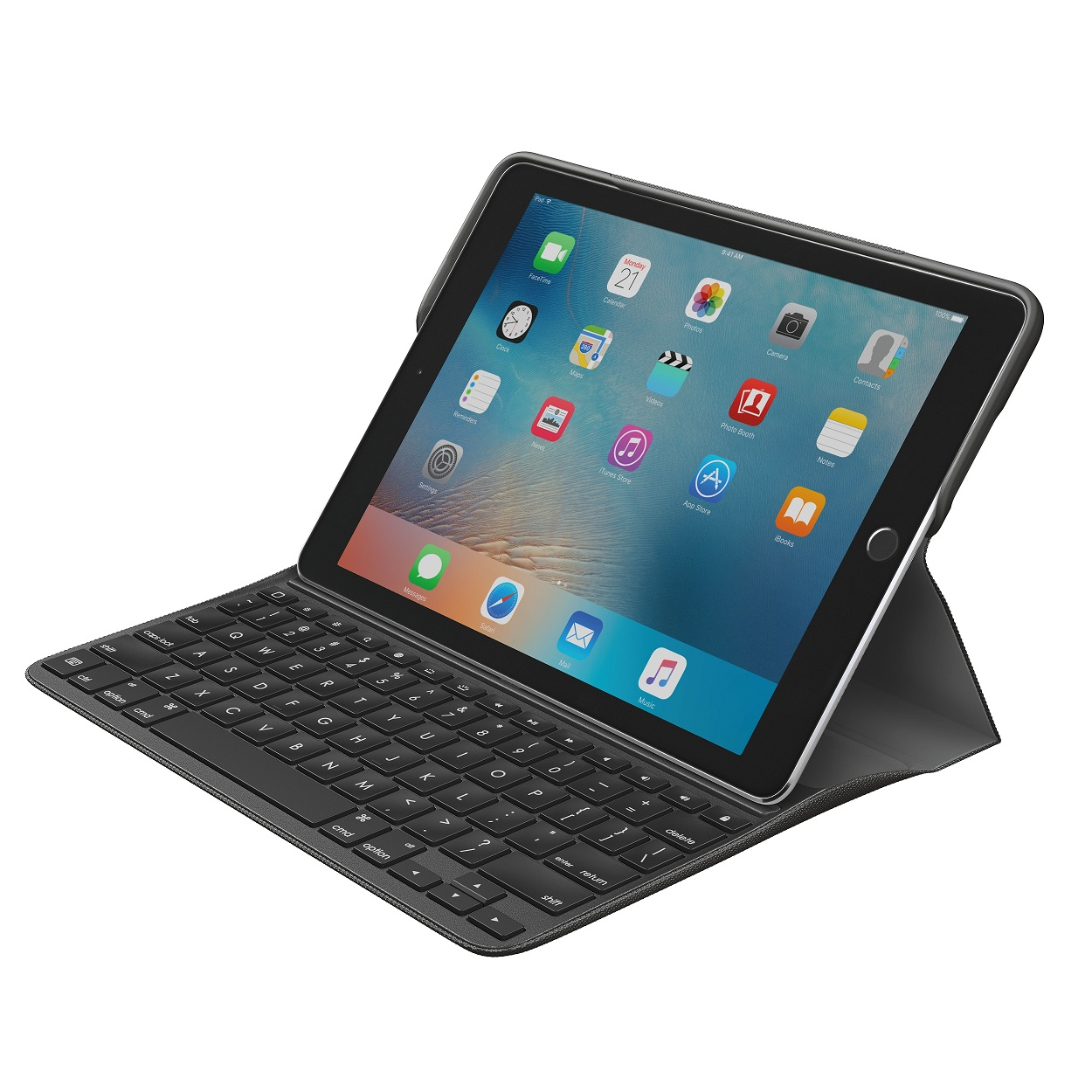 logitech presenta la cover tastiera create per ipad pro 9 7 pollici ipad italia. Black Bedroom Furniture Sets. Home Design Ideas