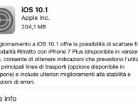 Disponibile iOS 10.1 per tutti gli utenti!