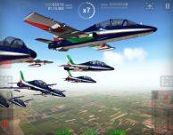 Le Frecce Tricolori arrivano su iPad