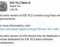 Disponibile iOS 10.2 Beta 6!