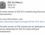 Disponibile iOS 10.3 Beta 2 per sviluppatori