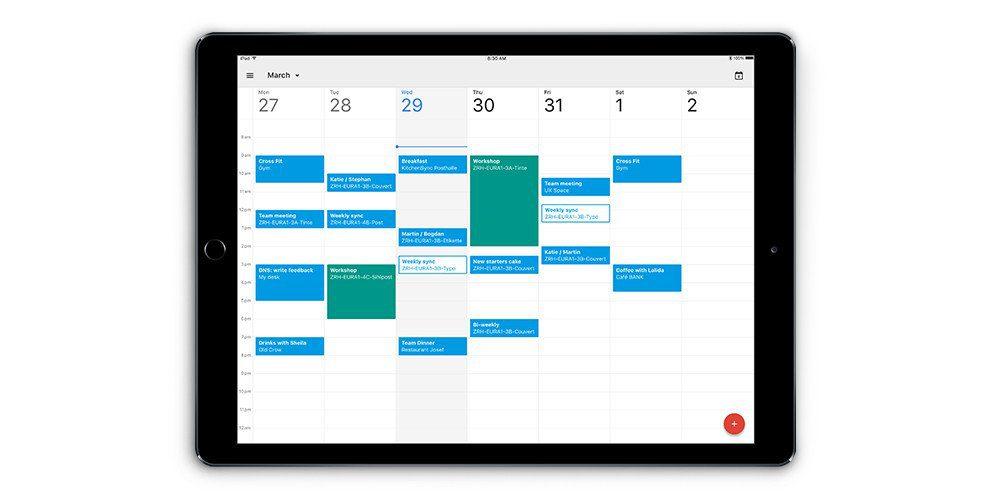 Calendario appuntamenti app