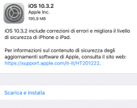 Disponibile iOS 10.3.2 per tutti!
