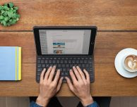 Silm Folio: la custodia-tastiera di Logitech per il nuovo iPad con quattro anni di autonomia