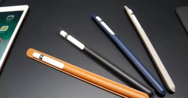 Custodie originali Apple in pelle per iPad Pro e Pencil