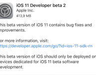 Apple rilascia iOS 11 beta 2 per iPad!