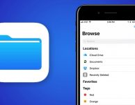 File: focus sul nuovo file manager di iOS 11