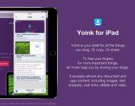 Yoink: famosa app drag-and-drop arriva su iOS