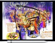 Gli artisti di Urban Sketchers premiati da Apple per il loro utilizzo di Apple Pencil