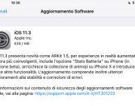 Apple rilascia ufficialmente iOS 11.3 per iPad