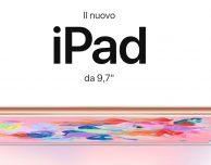 Il nuovo iPad da 9,7 pollici è disponibile da oggi