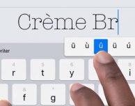 iPad: in futuro potrebbero avere una tastiera a schermo sopraelevata