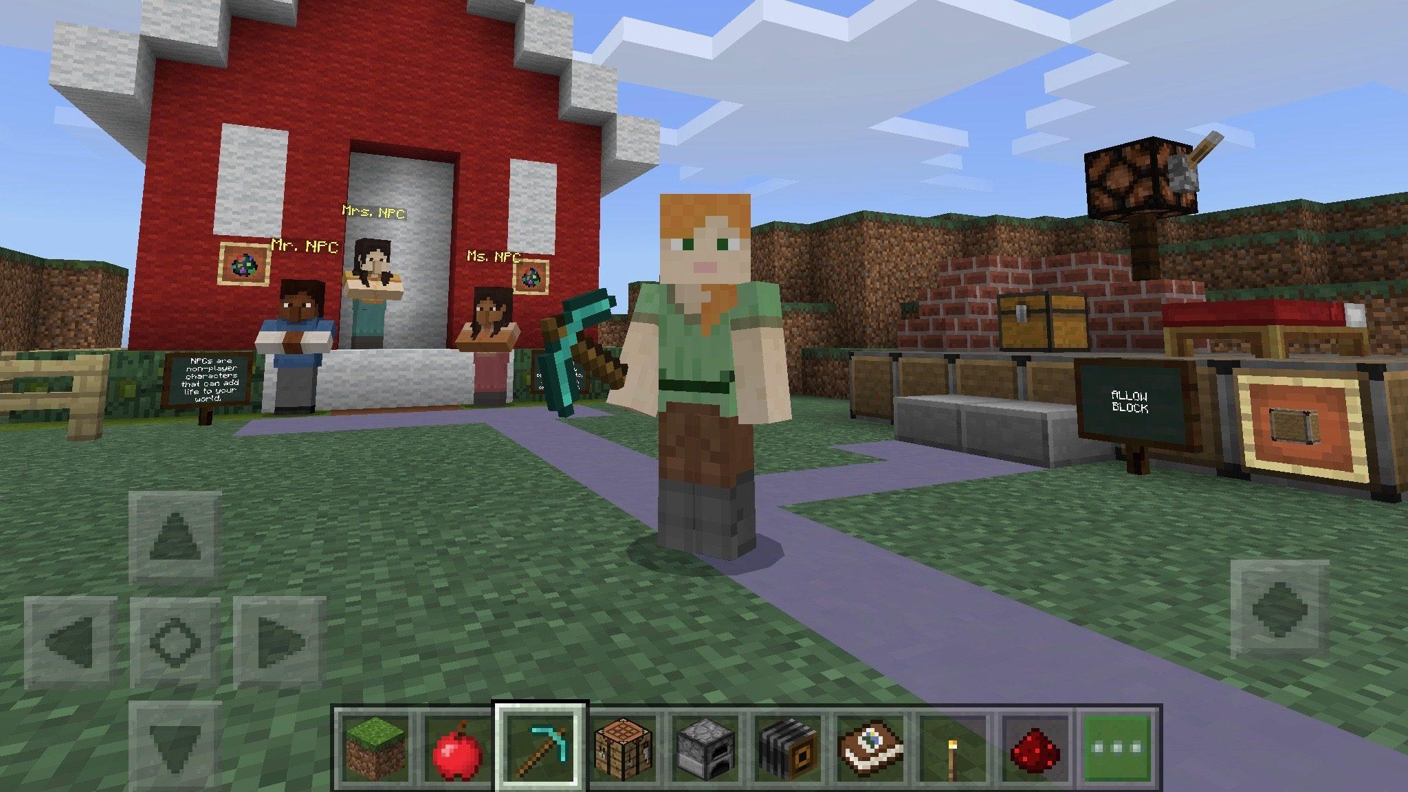 Come Fare Un Letto Su Minecraft : Minecraft: education edition è disponibile su app store ipad italia
