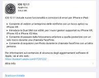 Apple rilascia iOS 12.1.1 per iPad