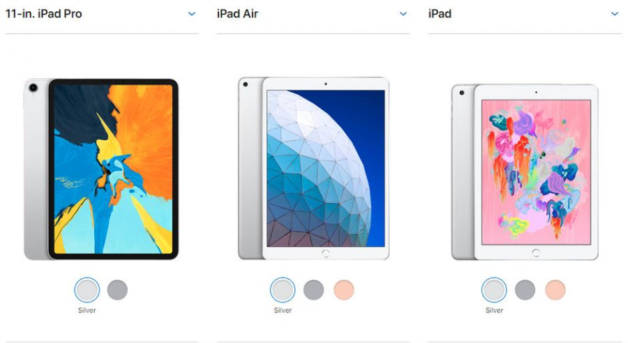 iPad Air 10.5 vs iPad 9.7 vs iPad Pro 11: scopriamo tutte le differenze