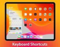Le scorciatoie da tastiera su iPadOS 13