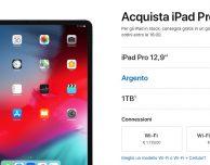 Apple abbassa i prezzi degli iPad Pro da 1TB