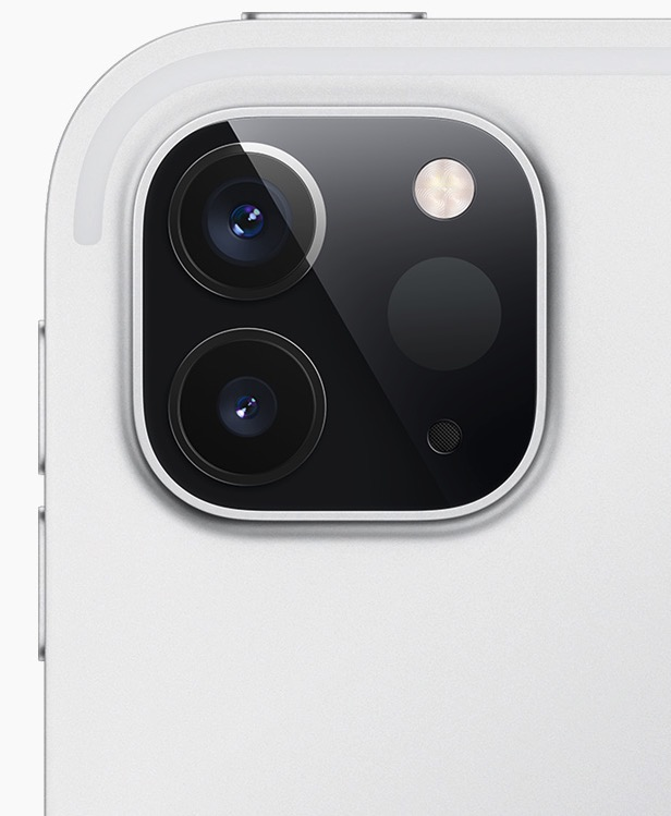 doppia fotocamera ipad pro