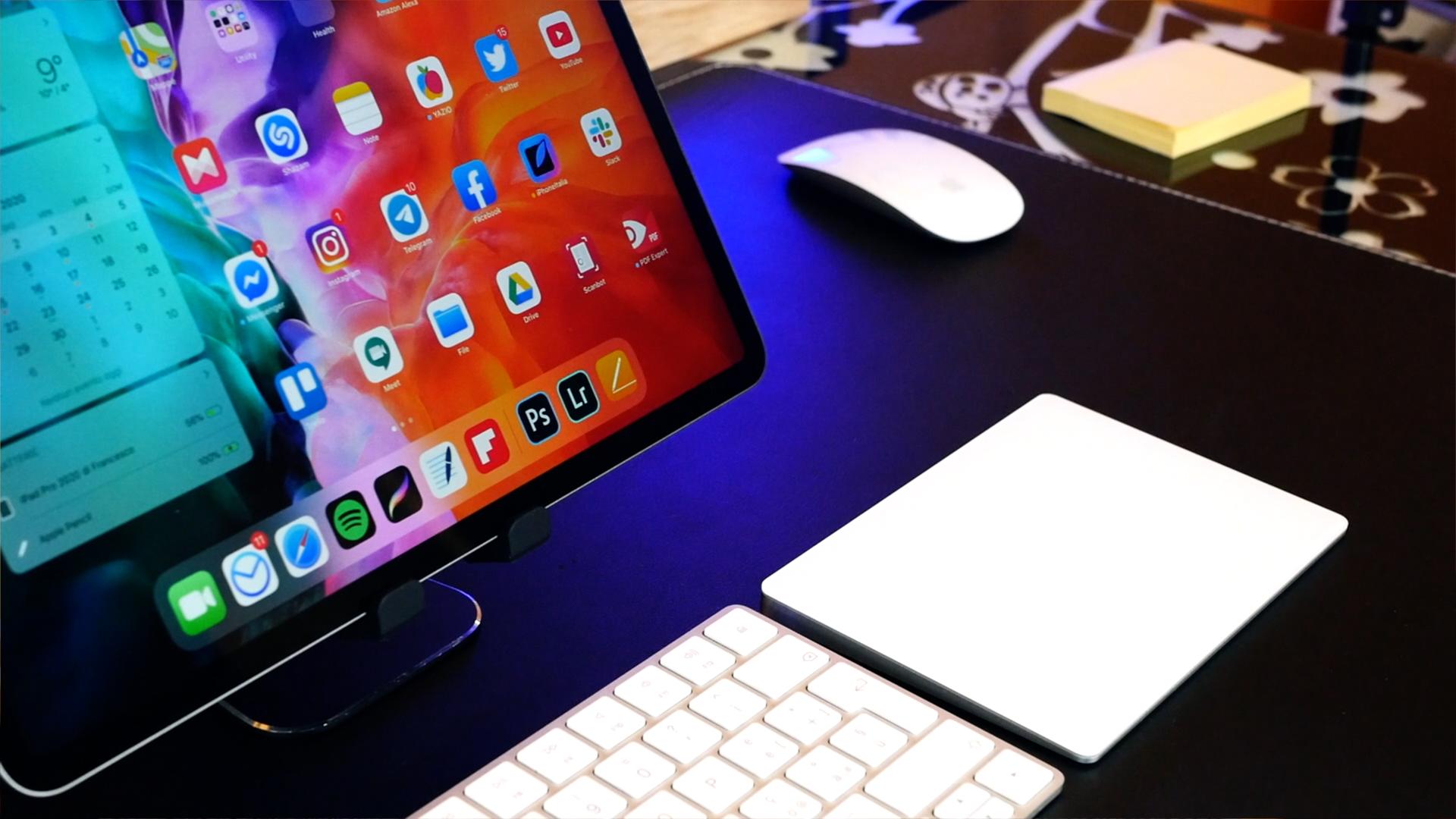 iPad Pro 2020 trackpad